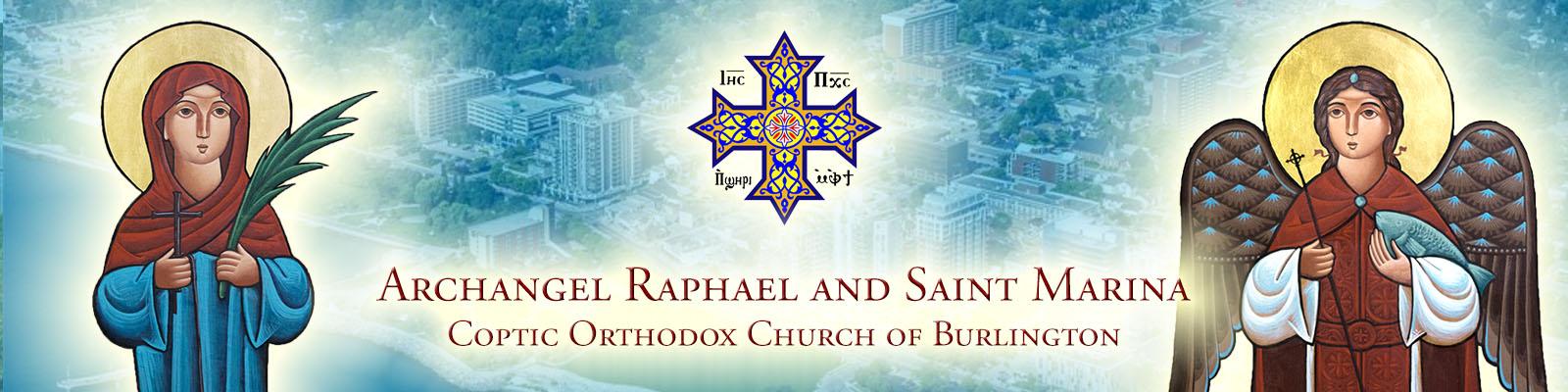 Archangel Raphael & Saint Marina